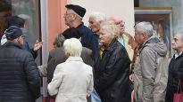 Isplata pomoći penzionerima