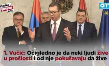(KURIR TV) 10 NAJVAŽNIJIH PORUKA sa sastanka Vučića, Nikolića, Dodika i Ivanića, a NAJJAČA je DEVETA