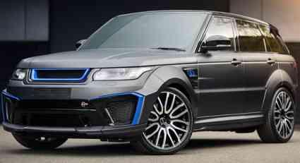 Kahn Range Rover Sport 5.0 V8 Supercharged SVR Pace Car