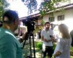 Kamere RTV Vranje na snimanju Vrati se Zone