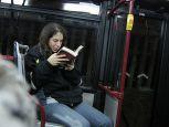 Knjige na poklon u gradskim autobusima