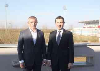 Kokeza ugostio generalnog sekretara Azerbejdžana