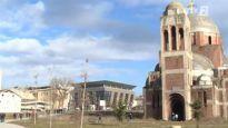 Kosovo: Pano na crkvi muzej Miloševićevih žrtava