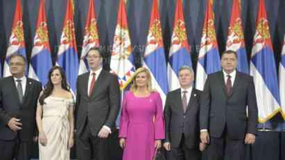 Lideri regiona na proslavi Vučićeve inauguracije