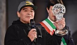 Maradona postaje počasni gradjanin Napulja