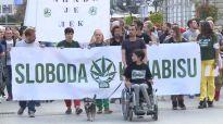 Marš za legalizaciju kanabisa u Novom Sadu