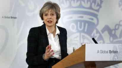 Mej: Jasan raskid sa EU, parlament odlučuje o planu