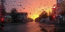 Mestimično kiša, osetno svežije, moguće nepogode