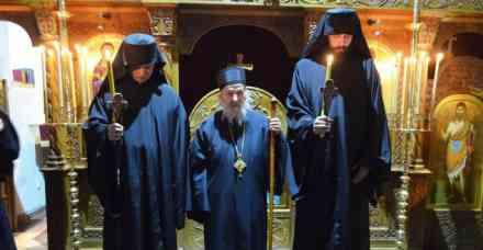 Monašenje i proslava praznika Cveti u manastiru Presvete Bogorodice Trojeručice u Mušvetama  🎥