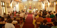 Nadbiskup Hočevar predvodio misu povodom blagdana katoličke crkve u Boru [FOTO]