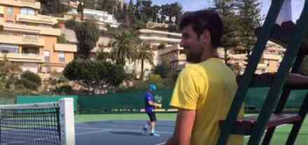 Novak počeo s treninzima za odbranu duple krune