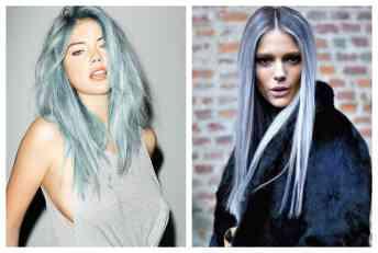Novi hair trend: Vreme je za srebrno-plavu kosu!
