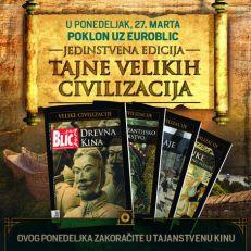 "Otkrijte tajne drevne Kine 27. marta uz ""Euroblic"""