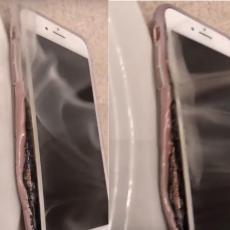 PROKLETSTVO SAMSUNGA? Pojavio se snimak ajfona koji se ZAPALIO, Epl istražuje slučaj (VIDEO)