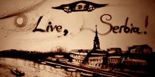 Peščana bajka ili kako Ksenija Simonova vidi Srbiju