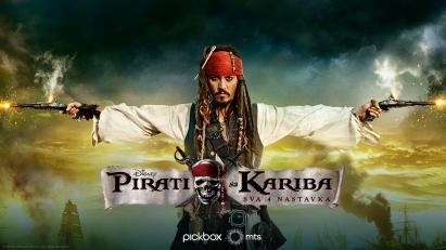 Pirati sa Kariba - sva 4 nastavka na mts TV