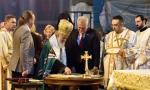 Počelo ukrašavanje centre kupole Hrama Svetog Save: Tri kamena u jedan krst