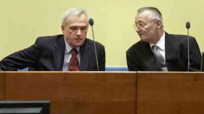 Ponovljeno suđenje Stanišiću i Simatoviću 13. juna