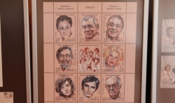 Predstavljene poštanske marke sa likovima velikana srpskog glumišta (FOTO, VIDEO)