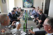 Prijem za delegaciju nemačkog Saveza za brigu o ratnim grobovima
