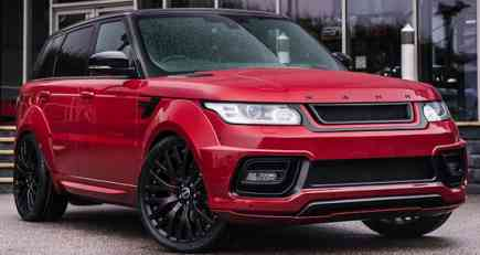 Project Kahn Range Rover Sport 4.4 SDV8 Diesel Autobiography Dynamic Pace Car