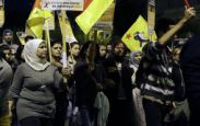 Protest izbeglica, osoblje kancelarije za podršku evakuisano