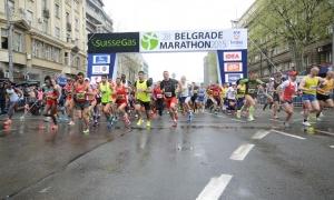 Rekordnih 8.000 učesnika na 30. Beogradskom maratonu