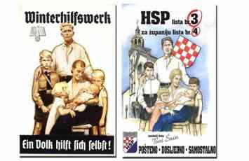 SA HITLEROM BI DA OSVOJE VLAST HSP za izbore pustio kopiju nacistickog plakata iz 1938. godine