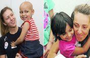 SAMPIONKE SA MALOM HEROINOM Devojcica posle posete odbojkasica pobedila rak. Sada su se opet srele