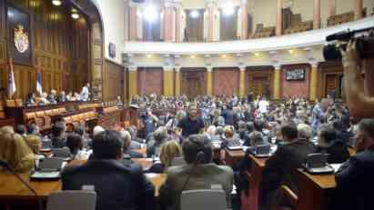 Skupština Srbije usvojila izmene Zakona o ministarstvima