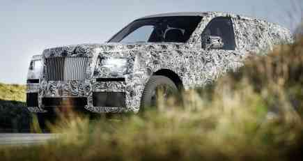 Špijunski video: Rolls-Royce Cullinan