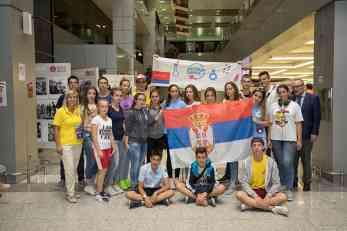 """Srpski učenici boravili u međunarodnom kampu """"Artek"""""""