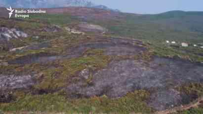 Šta je ostalo nakon požara u Crnoj Gori?