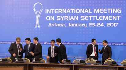 Strane u Siriji neće potpisati završni dokument u Astani