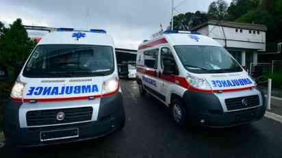Sudar dva vozila kod Orlovače