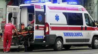 Sudar u Žarkovu, dve žene povređene