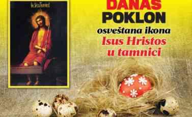 TO MOŽE SAMO KURIR: Danas poklanjamo osveštanu ikonu Isusa Hrista u tamnici