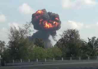 Tajland: Avion se srušio pred decom, pilot poginulo na licu mesta