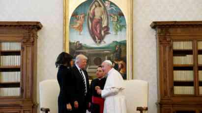 Tramp: Neću zaboraviti ono što mi je papa rekao
