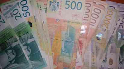 U Srbiji pale plate za 5, u Leskovcu za 9,2 posto