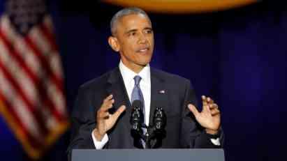 U oproštajnom govoru, Obama apelovao na jedinstvo i učešće u demokratiji