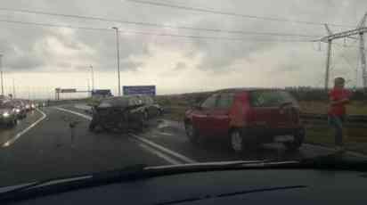 UDES KOD ORLOVAČE Povređene dve osobe, automobili uništeni