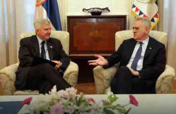 VAŠINGTON JE STOVORIO MNOGE NEVOLJE Tomislav Nikolić poručio Kajlu Skotu da se nada novoj politici američke administracije