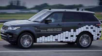 VIDEO: Autonomni Range Rover Sport