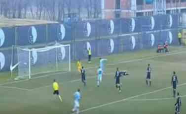 (VIDEO) KLJAJIĆ SPASAO PARTIZAN: Neverovatan promašaj fudbalera Rada