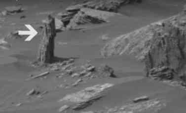 (VIDEO) PROCURIO SNIMAK LOBANJE I DRVETA NA MARSU? Čak i NASA rekla da je ovo nešto čudno