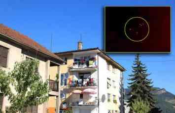 (VIDEO) VANZEMALJCI NA NEBU IZNAD SRBIJE Gradjani Donjeg Milanovca u soku Snimili NLO na nebu iznad grada