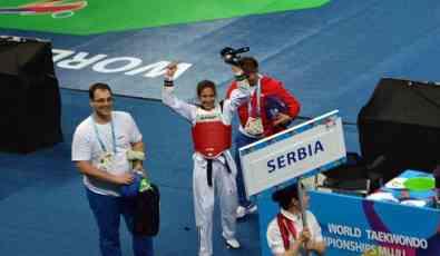 Vanja Stanković donela zlato Srbiji na Svetskom prvenstvu u tekvondou