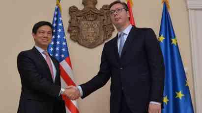 Vučić:�Srbija i SAD saglasne da je očuvanje mira i stabilnosti u regionu zapadnog Balkana najviši i najbitniji CILJ (FOTO)