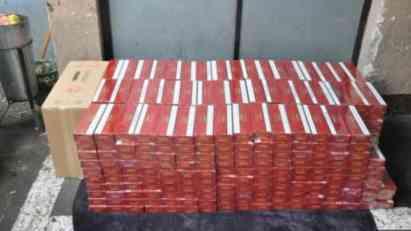 ZAPLENJENO 4.000 paklica cigareta kod Zaječara